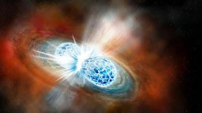 Fusion de dos estrellas de neutrones