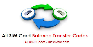 how-to-transfer-mobile-balance-all-ussd-code