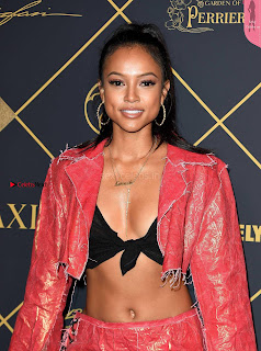 Karrueche Tran Sexy Cleavages Huge Side Boobs lovely ass at 2017 BET Awards in Los Angeles SexyCelebs.in Exclusive