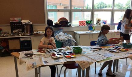 King George Art Guild: KGAG Children's Summer Art Classes