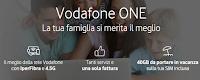 Logo Vodafone One o One Pro! Fisso + Mobile in una unica soluzione : scopri le offerte!