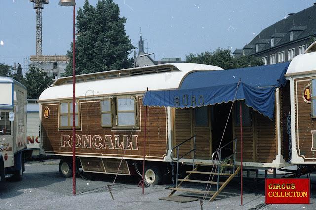 les bureaux du cirque de Bernard Paul
