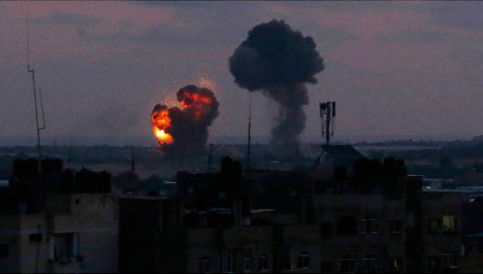Militer Israel telah mendeteksi peluncuran 150 roket dari Jalur Gaza