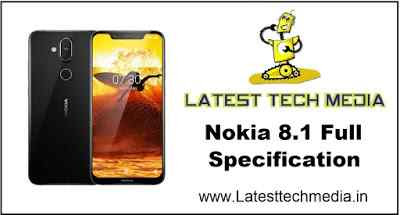 Nokia 8.1 Full Specification