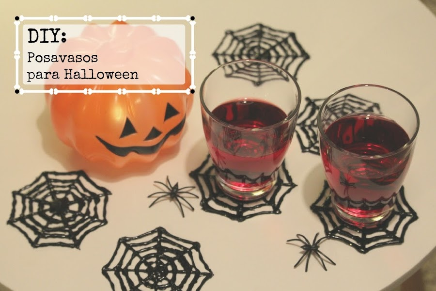 Posavasos para halloween - Punto de Lu