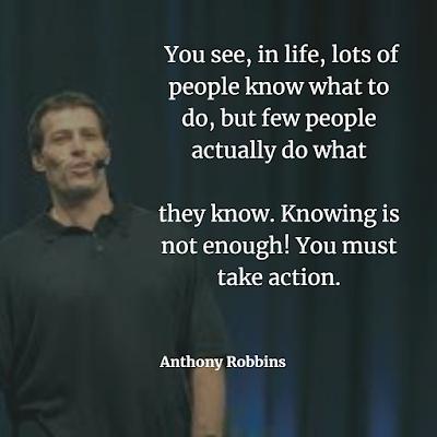 Vest Anthony Robbins Inspiration