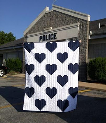 Quilt for Peace by Laura Piland Slice of Pi Quilts