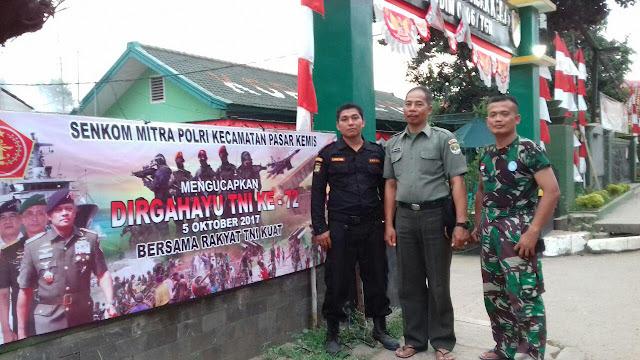 HUT TNI KE 72 PASAR KEMIS
