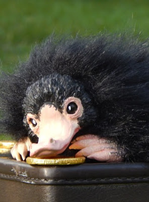 Niffler collector's art doll plush animal
