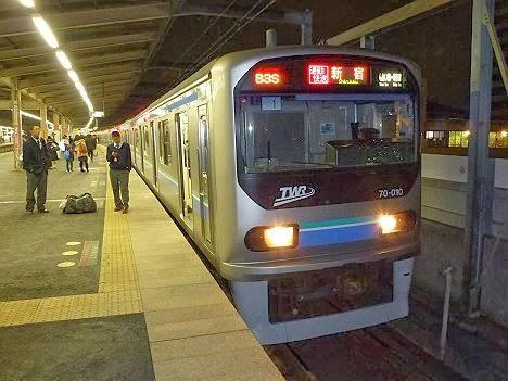 埼京線 通勤快速 新宿行き1 70-000形