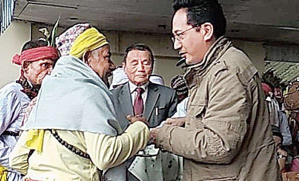 GNLF organised Banbo Festival at Chowrasta in Darjeeling