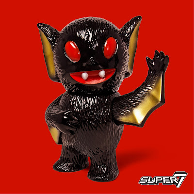 "Designer Con 2017 Exclusive ""Midnight Monster"" Bat Boy Vinyl Figure by Super7"