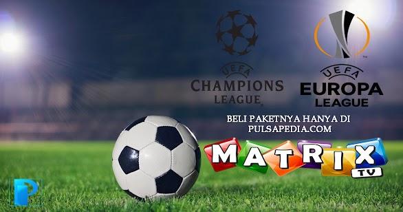 Cara Membeli Paket Liga Champions Matrix Garuda