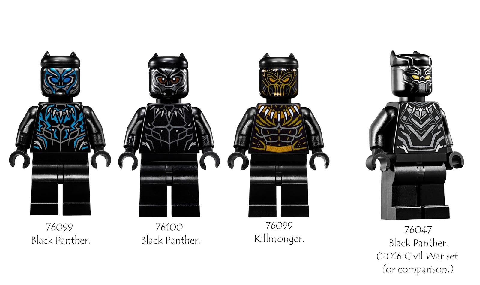 Compilation Official Images Of 2018 Lego Black Panther