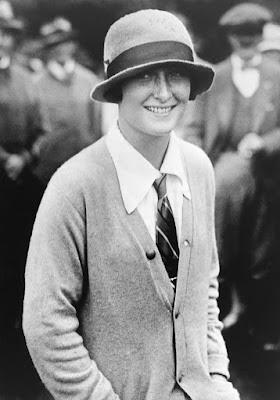 Golfer Simone de la Chaume