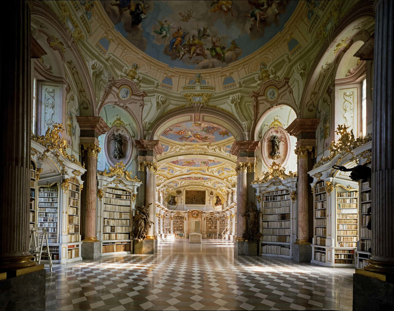 Mind-Blowing Pictures Of The World's Most Fascinating Libraries