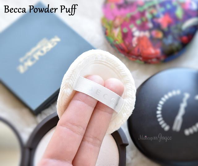 Becca Blotting Powder Puff Sponge Applicator Review