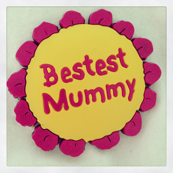 best mum badge