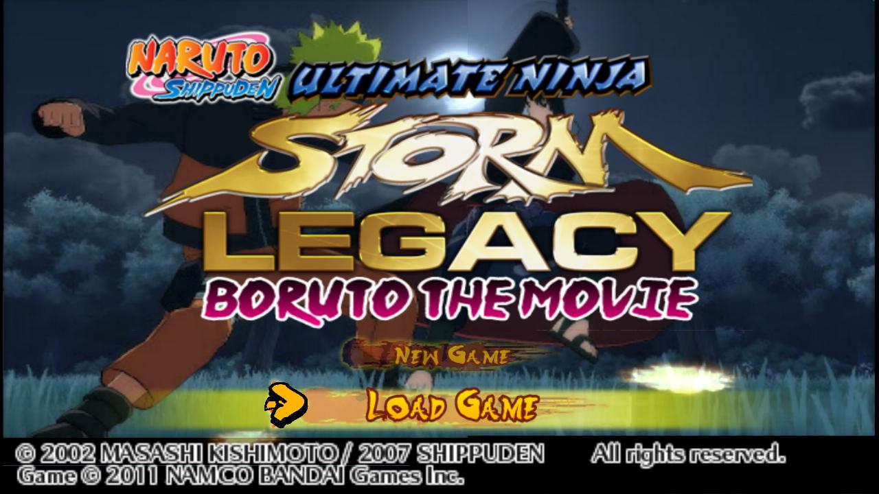 Naruto Shippuden Ultimate Ninja Storm 4 - PPSSPP