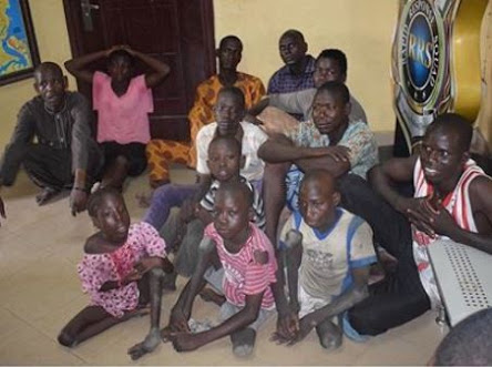 7 People Arrested For Importing Physically Challenged Kids To Beg In Lagos (Photo)