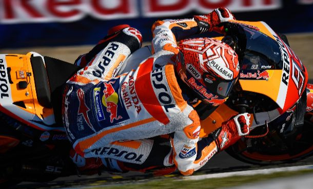 Marc Marquez vence de ponta a ponta em Jerez