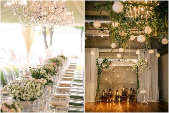 Dekoracje ślubów i wesel, aranżacje kwiatowe 2016, ślub w kolorze białym 2016