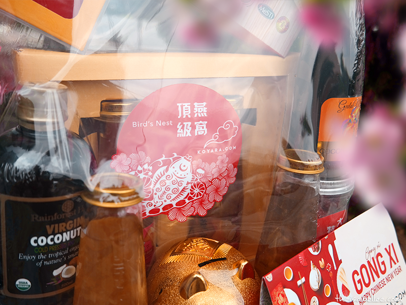 Koyara Healthy Chinese New Year Hampers bird's nest