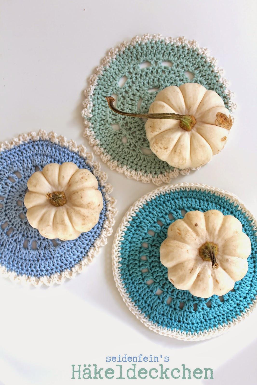 seidenfeins Blog vom schönen Landleben: Häkeldeckchen ! * Crochet ...