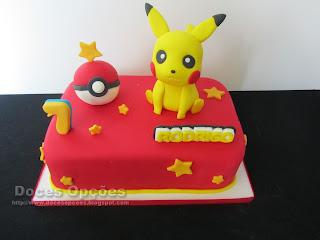 O pikachu foi ao aniversário do Rodrigo