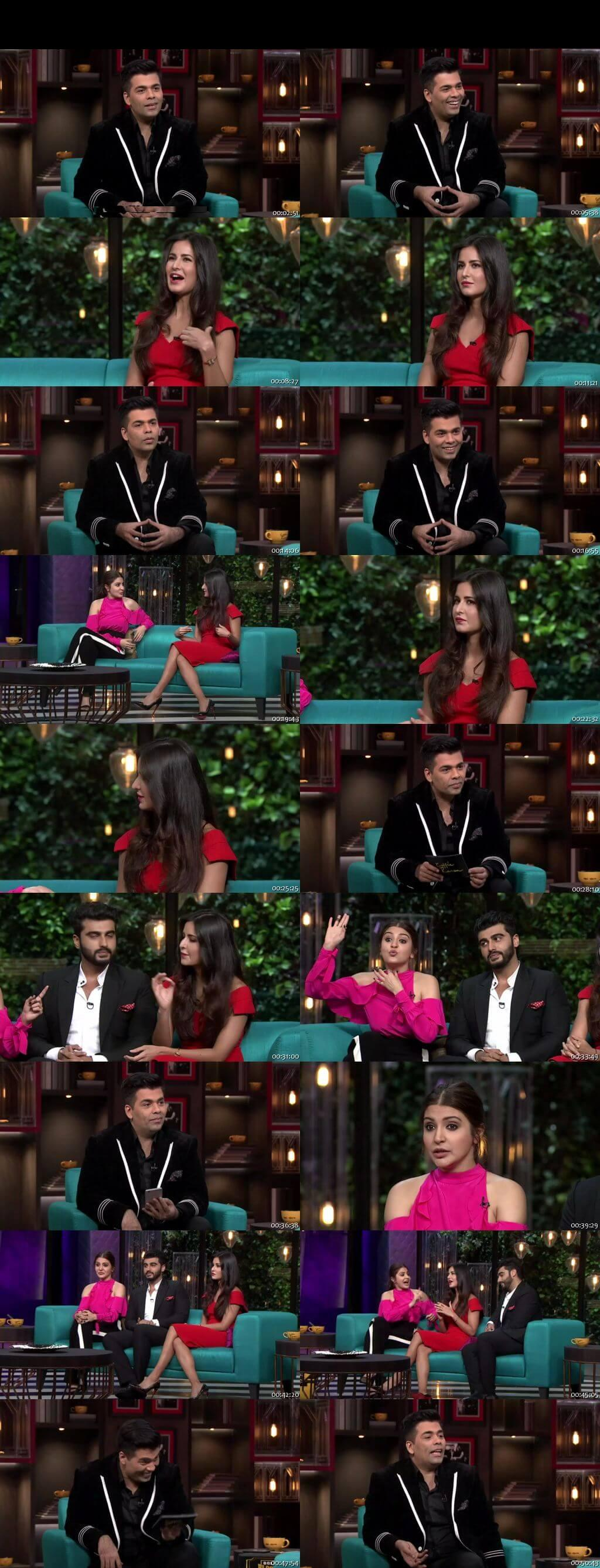 Screen Shot Of Koffee With Karan 25th December 2016 Season 05 Episode 08 300MB Watch Online