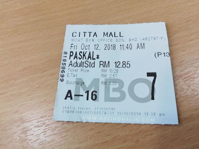 Lepak MBO Tengok Cerita Movie PASKAL Memang Best Giler Puas Hati !