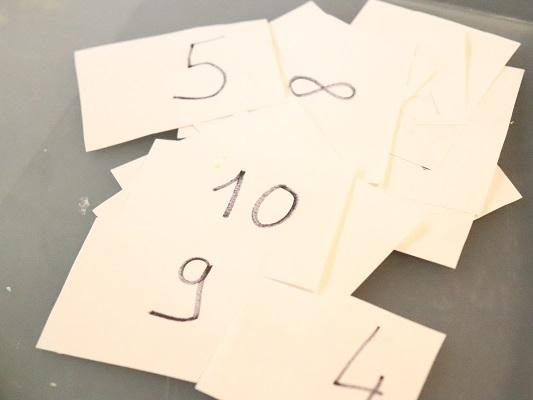 cartes chiffres