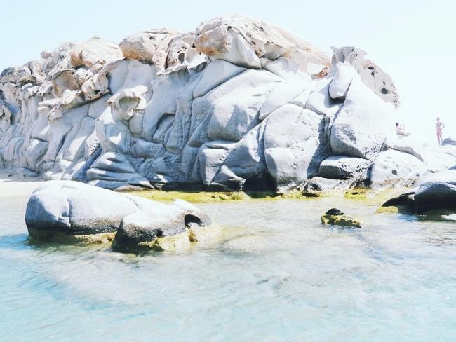 Kolimbithres beach,Paros