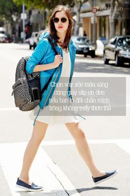 Mix cùng giày slip-on phong cách cho mùa hè năng động