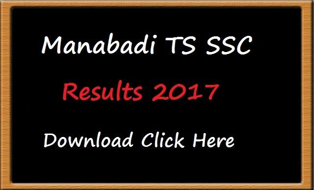 telangana ssc results 2017 manabadi