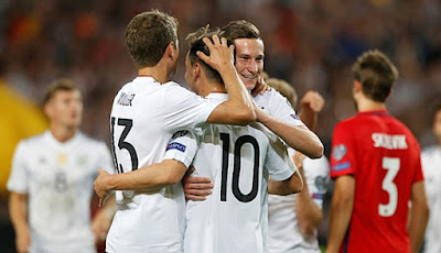 Live Streaming Jerman vs Swedia