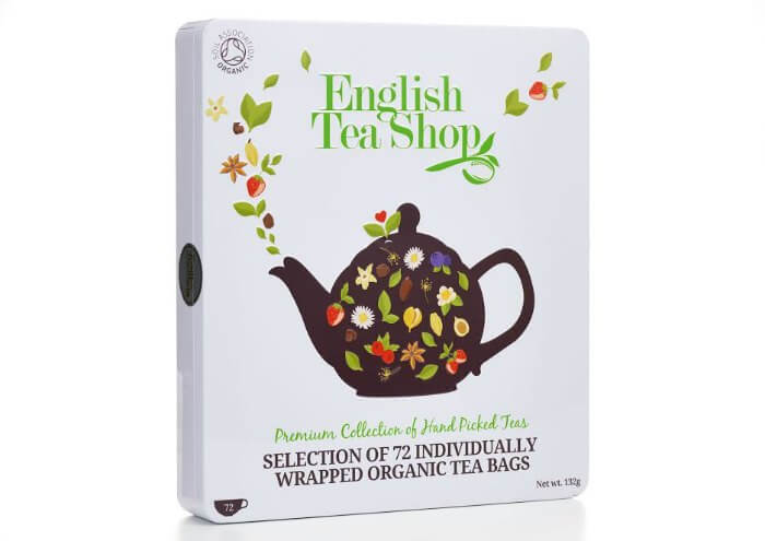 English Tea Shop's Luxury Organic Collection