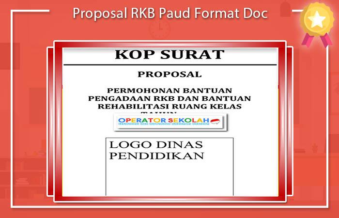 Proposal RKB Paud