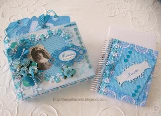 Caixa decorada kit presente
