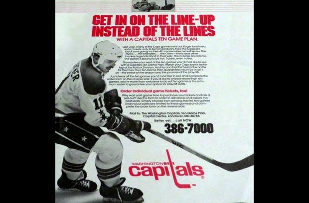 1985-86 Season Sales Brochure