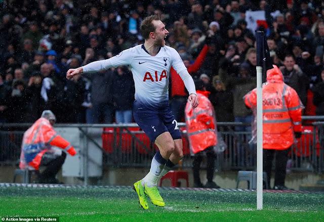 Christian Eriksen có thể rời Tottenham với giá rẻ