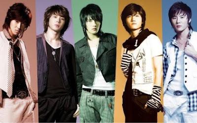 Foto de integrantes de DBSK, TVXQ o Tohoshinki