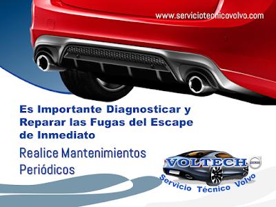 Mantenimiento Sistema de Escape Volvo