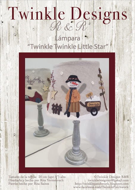Patrón de la lámpara Twinkle Designs R&R