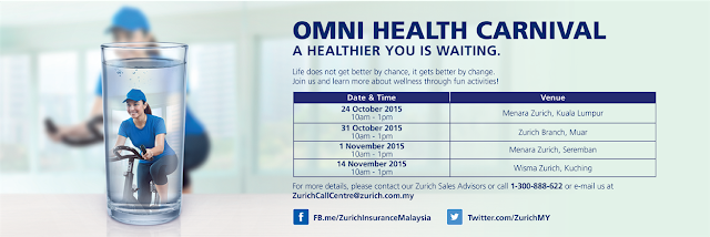 OMNI HEALTH CARNIVAL - from 24 Oct to 14 November 2015