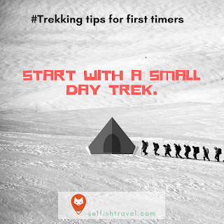 9 Trekking tips for first timers