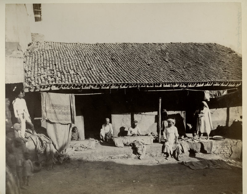 Native Hut - India 1880's