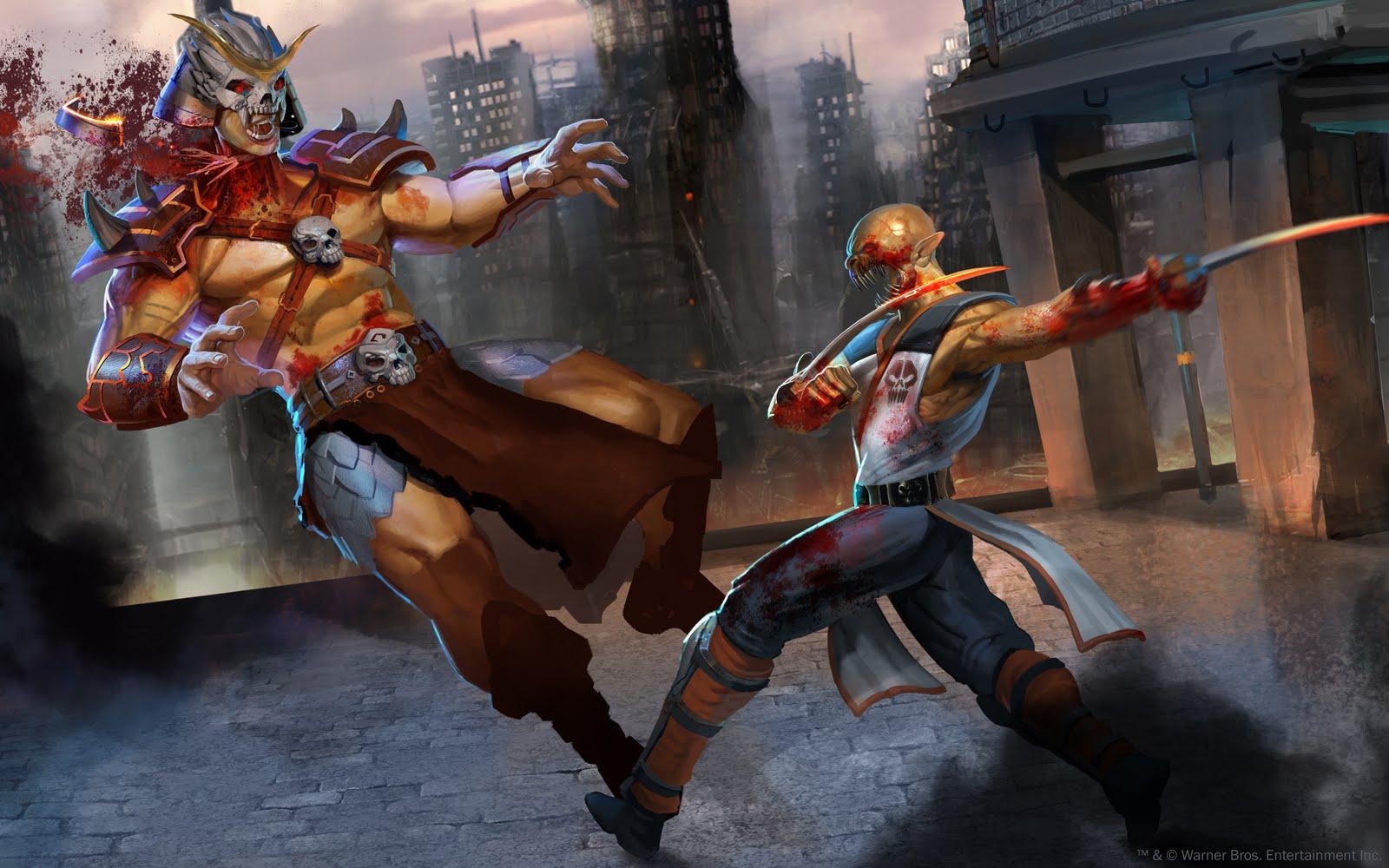 Mortal Kombat Online - Mortal Kombat (2011) - Artist site reveals a