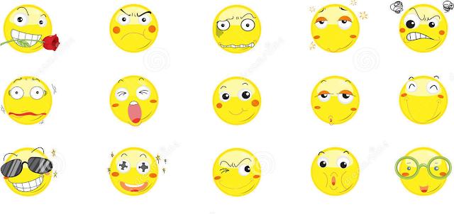 色々な顔の絵