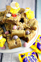 Mini Egg Blondie Bars